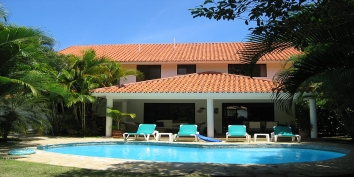 Dominican Republic Villa Rentals By Owner - Villa Marabou, Sea Horse Ranch, Cabarete, Dominican Republic.