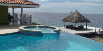 Curacao Villa Rentals By Owner - Villa Sea Paradise, Jan Thiel Bay, Curacao.