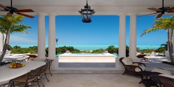 Turks and Caicos Villa Rentals By Owner - Villa Shambhala, Long Bay Beach, Providenciales (Provo), Turks and Caicos Islands.