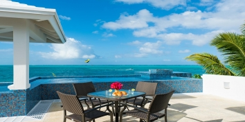 Turks and Caicos Villa Rentals - Wild Cherry, Grace Bay Beach, Providenciales (Provo), Turks and Caicos Islands.