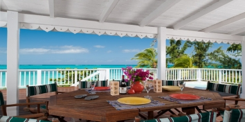 Turks and Caicos Villa Rentals By Owner - Windrose Estate, Grace Bay Beach, Providenciales (Provo), Turks and Caicos Islands.